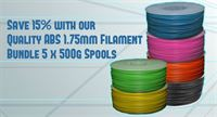 Quality ABS Print Pack 5 x 500g Spools Save 15%