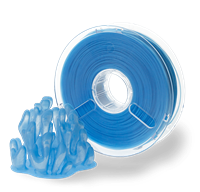 PolyPlus PLA Translucent Blue 1.75MM Filament 750g