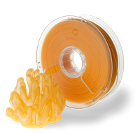 POLYPLUS PLA TRANSLUCENT ORANGE 1.75MM FILAMENT 750g