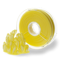 POLYPLUS PLA TRANSLUCENT YELLOW 1.75MM FILAMENT 750g