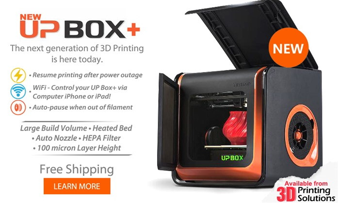 New UP Box+ 3D Printer Available Now!