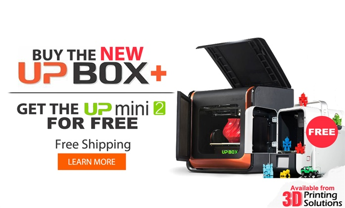 SPECIAL: Buy the NEW UP Box+ and get the new UP Mini 2 for free!