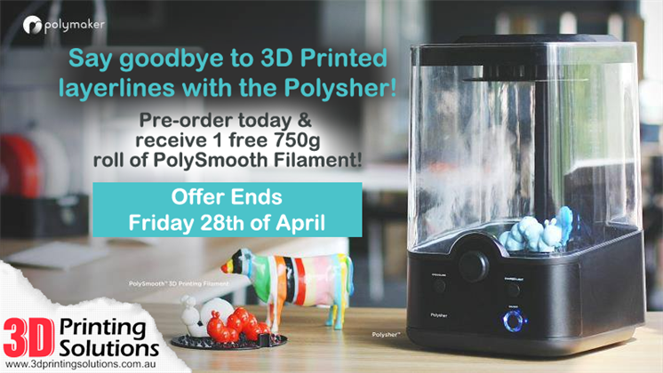 Last days to claim the Polysher Special Pre-order
