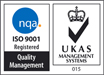 NQA ISO 9001 & UKAS 015 Accredited