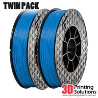 Genuine ABS+ UP Premium Filament Blue 1.75mm Twin Pack (2 x 500g)
