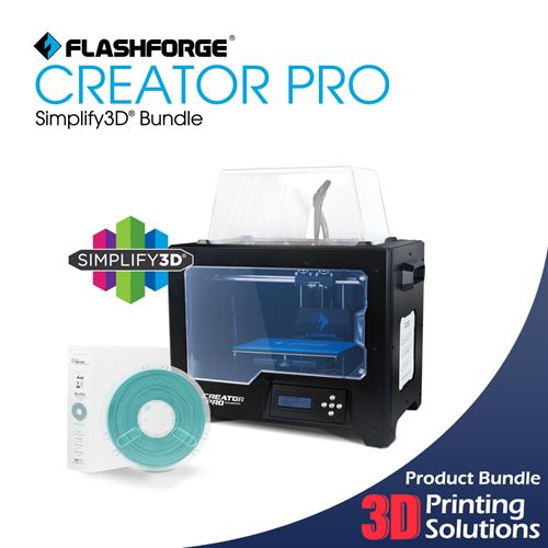 3D Printing Solutions > 3D Printer Store > FlashForge Creator Pro