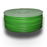 Electric Lime ABS 1.75mm Plastic Filament 1Kg Spool