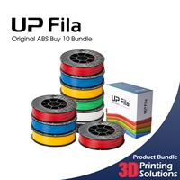 UP Original ABS Black Buy 10 Bundle 1.75mm (10x500g)