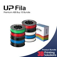 UP Premium ABS Buy 10 Bundle 1.75mm (10x500g)