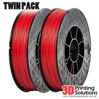 Genuine ABS+ UP Premium Filament Red 1.75mm Twin Pack (2 x 500g)