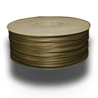 Gold ABS 1.75mm Plastic Filament 1Kg Spool