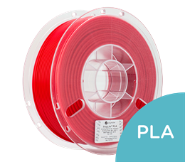 PolyLite PLA Red Filament