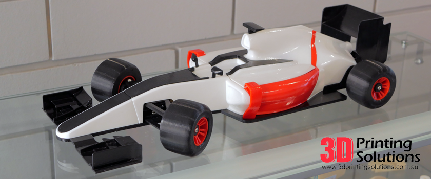 Featured 3D Print: OpenRC F1 Project
