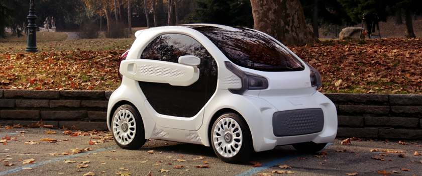 Polymaker & XEV Launch First Mass Produced 3D Printed Electric Car