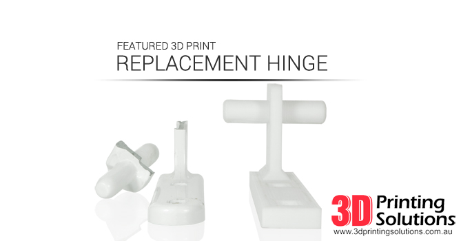 Featured 3D Print: Metal Replacement Hinge