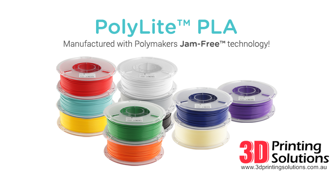 New PolyLite PLA colours and world-wide release
