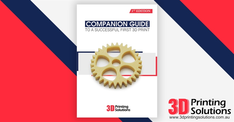 Exclusive Launch: 3D Printer Starters Companion Guide