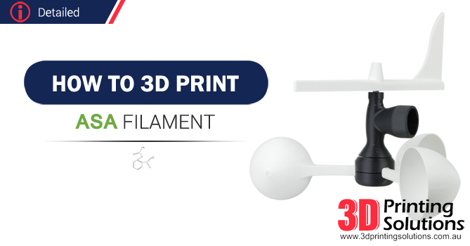 Advanced guide to printing ASA Filament