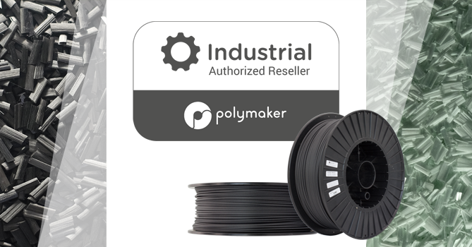 The full range of Industrial Polymaker materials available from 3D Printing Solutions