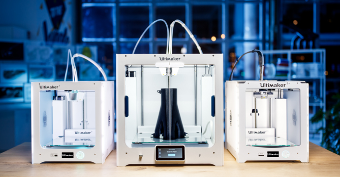 Professional 3D printing redefined with Ultimaker 3D printers