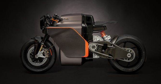 Sarolea electric superbike, 3D printing from prototyping to production.