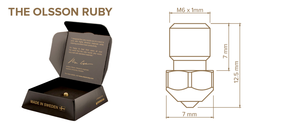 Olsson Ruby Specifications Original