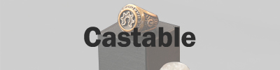 Castable 3D Printing Materials