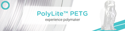 Polymaker PolyLite PETG 3D Printing Filament
