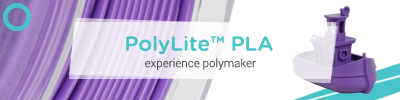 Polymaker PolyLite PLA 3D Printing Filament