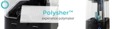 Polymaker Polysher Post-processing 3D print