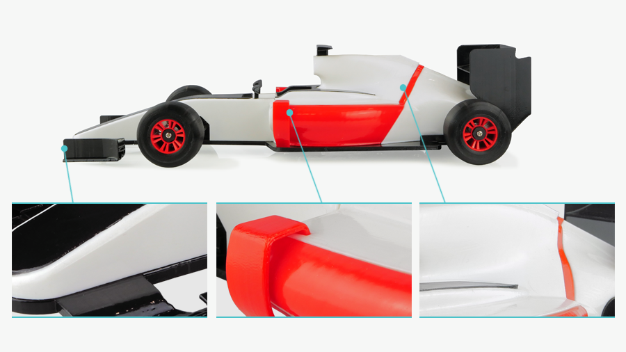 Polymaker Polysher RC Car Smooth 3D Print