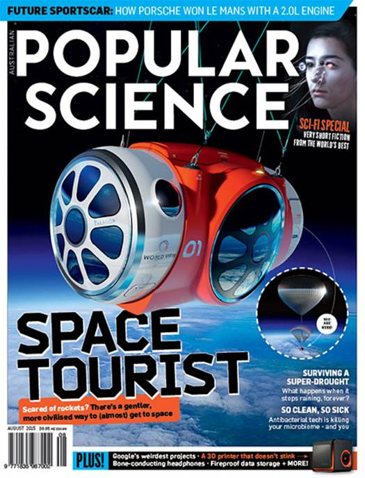 Popular Science Magazine, August 2015