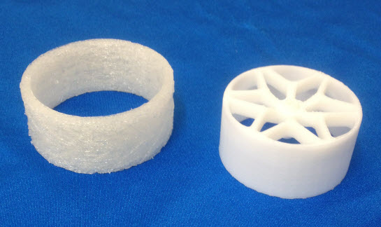 3D Printed Tyre Image 1
