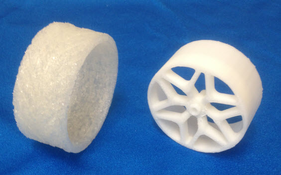 3D Printed Tyre Image 2